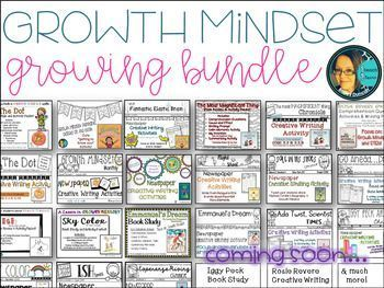 I had the pleasure of being a guest on a TPT podcast! Thank you so much for having me on your show, Rachel Davis!! The link for the show is below! I created this bundle to collect all of my growth mindset resources in one location. This bundle will be 1/2 off for
