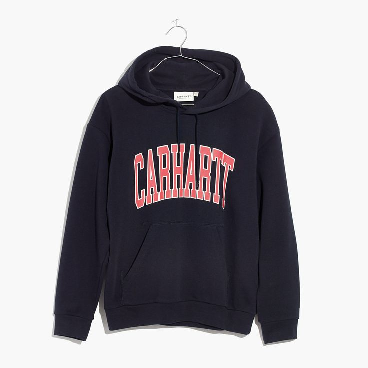Madewell Womens Carhartt Work In Progress Division Hoodie Sweatshirt