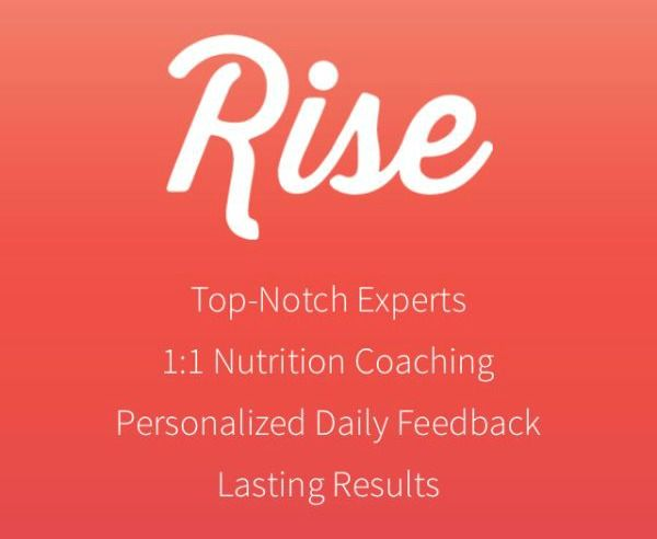 Your Personal Nutritionist with Rise App