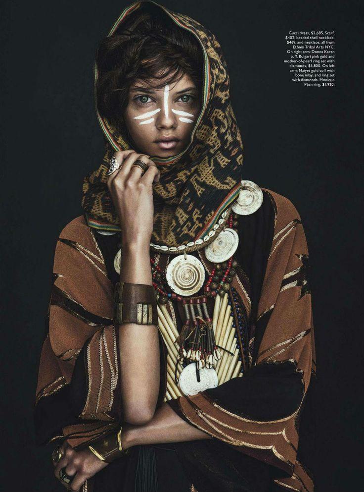 Marina Nery by Sebastian Kim for Vogue Australia April 2014