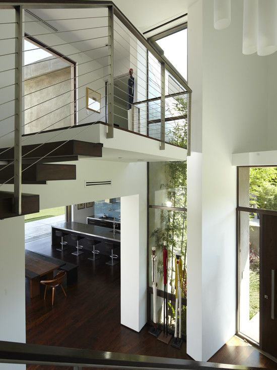 Best Like The Chunky Wooden Stairs Railing House Design 640 x 480