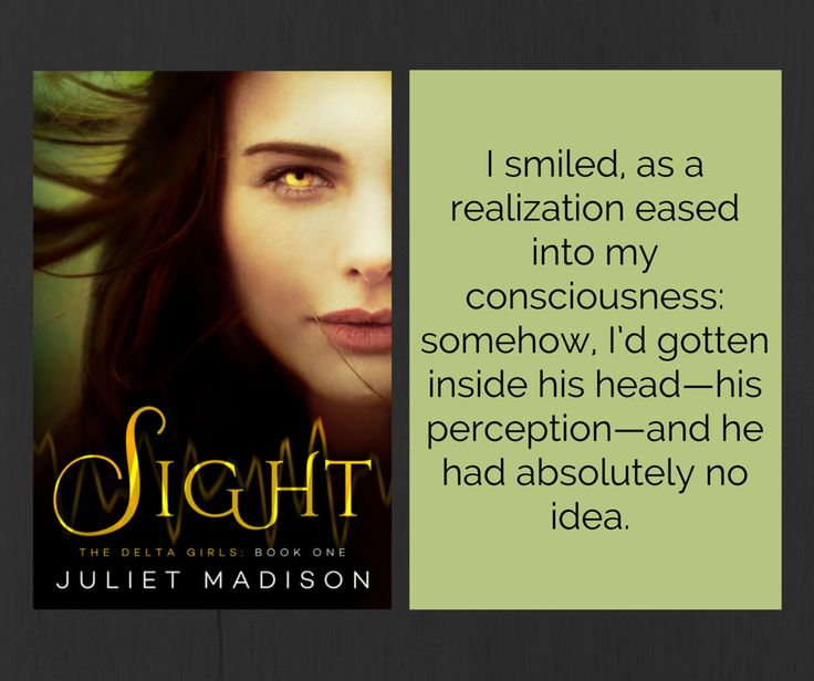 Teaser pic for SIGHT, book 1 of THE DELTA GIRLS #YA series coming July 2015! https://ganxy.com/i/102312/juliet-madison/sight-the-delta-girls-book-one