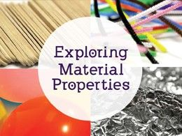 Free Team Resource: Exploring Material Properties. Fun instant challenges