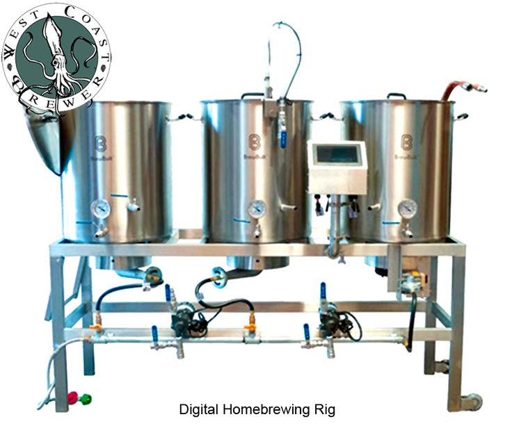 Digital Homebrewing System and Brew Rig   #homebrew #homebrewing #homebrewer  http://www.westcoastbrewer.com/BrewersBlog/home-brewing-equipment/new-digital-touch-screen-homebrewing-system-from-more-beer/