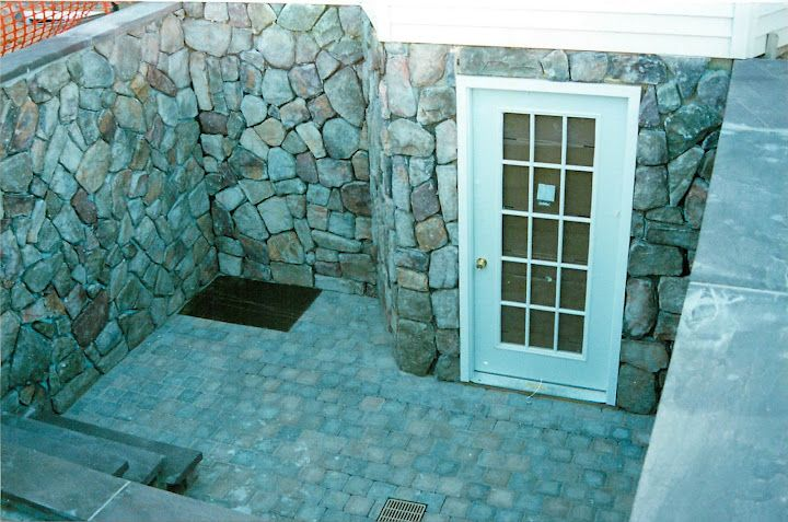 29 best images about basement walkout on pinterest for Walkout basement door options