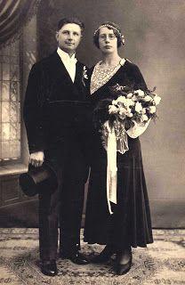 Binnenkant : Oude familiefoto's