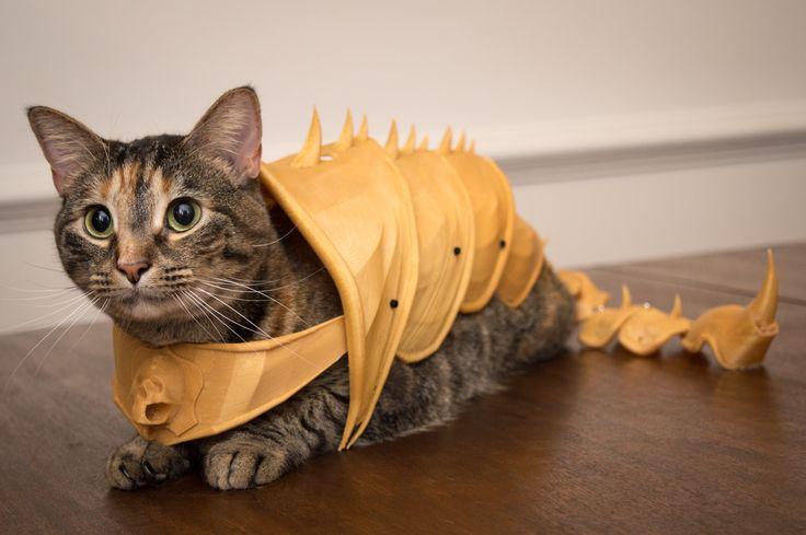 3D Printed Cat Armor - Album on Imgur