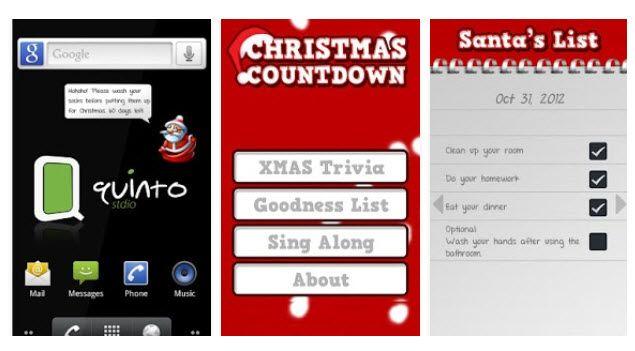 "A super widget for your phone - Christmas Countdown --- Un super widget pentru telefonul vostru - ""Christmas Countdown"""