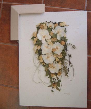 Matrimonio...e un tocco di classe: Come Conservare il Bouquet da Sposa