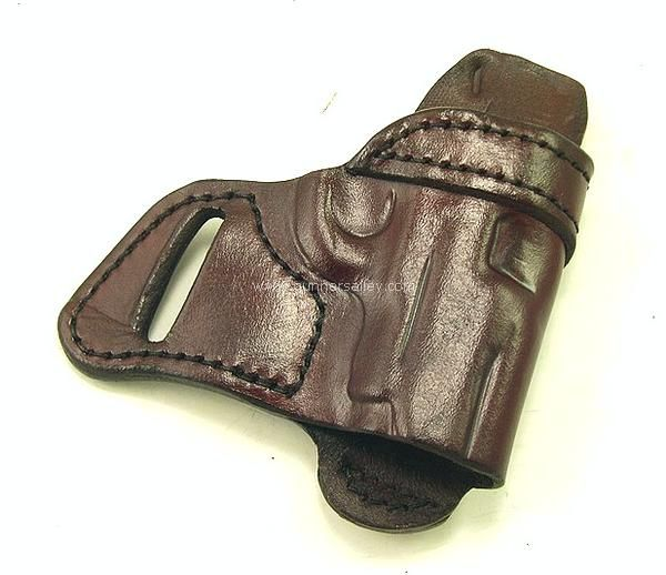 You are viewing a RH mahogany colored MTR Custom SOB holster for the Colt Mustang .380