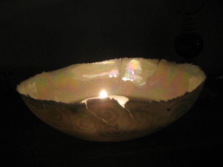 tea light  bowl