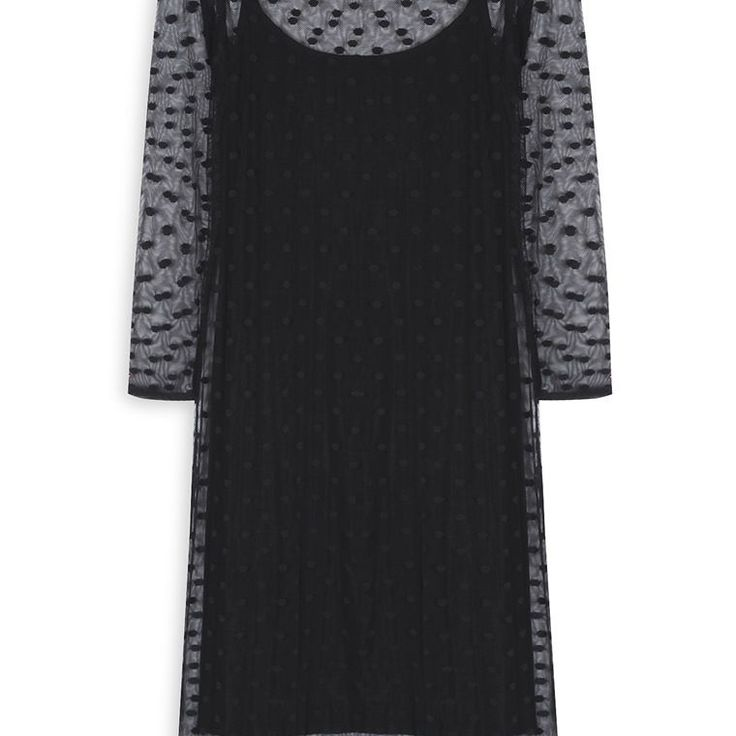 Vestido largo de malla negro  Categoría:#primark_mujer #ropa_de_mujer #vestidos en #PRIMARK #PRIMANIA #primarkespaña  Más detalles en: http://ift.tt/2pCdkAS