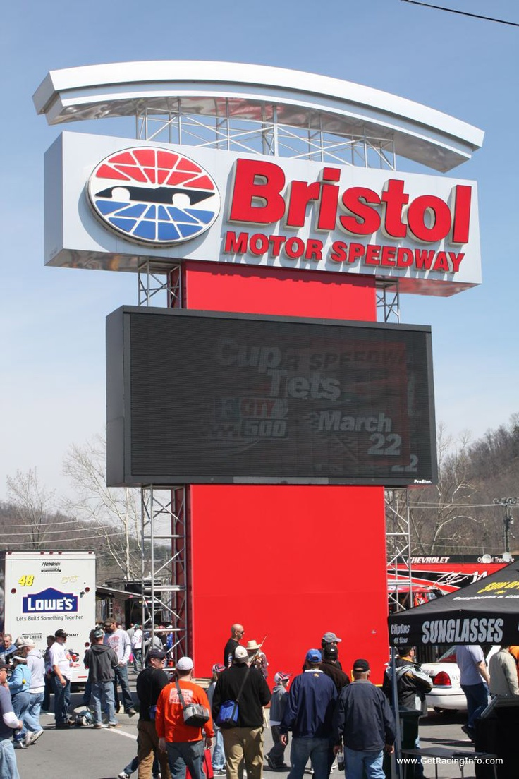 Bristol Motor Speedway ~ Bristol, TN  = Nascar in the South - #AmericaBound and @Sheila Collette Farm