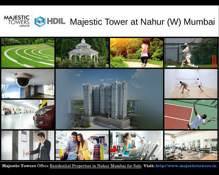 Majestic Towers Amenities - Residential Property for Sale in Nahur Mumbai