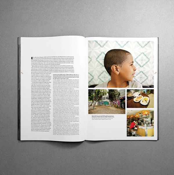 Magazine Design and Editorial Inspiration | love the layout