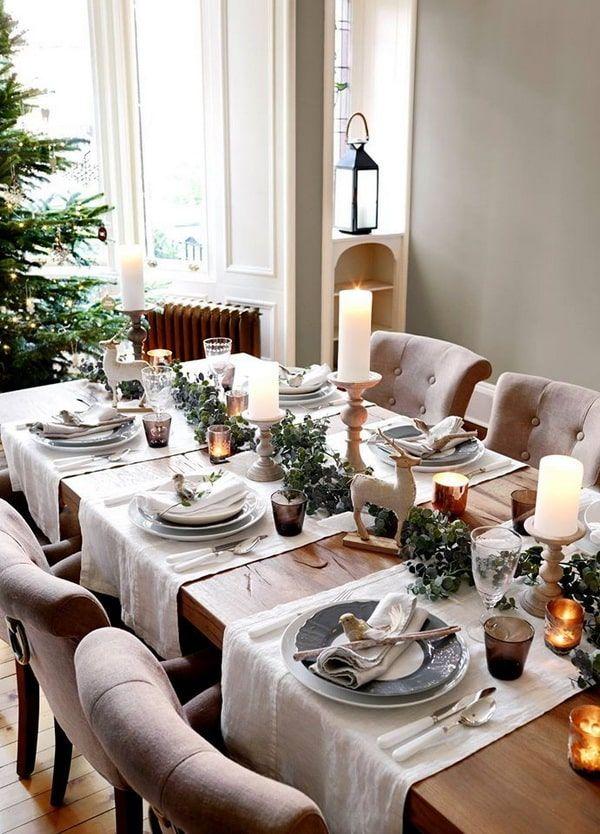 4 Tendencias Para La Decoración De Navidad 2020 2021 Decoración De Mesas Navideñas Decorar Mesas De Navidad Decoración De Mesa