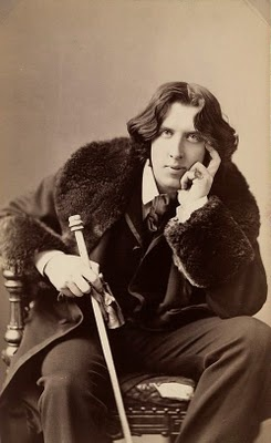 This picture is from 1882 and shows Oscar Wilde. A very strange character, if you do a little research on him.