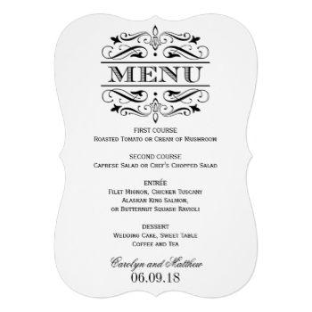 Formal dinner menus akbaeenw formal dinner menus stopboris Choice Image