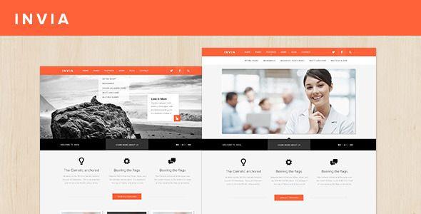 INVIA Corporate Site Template - ThemeForest Item for Sale