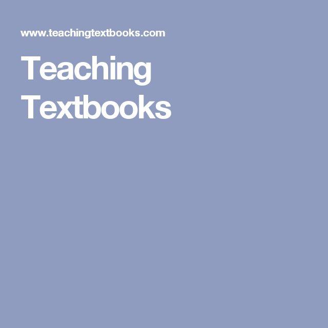 Teaching Textbooks