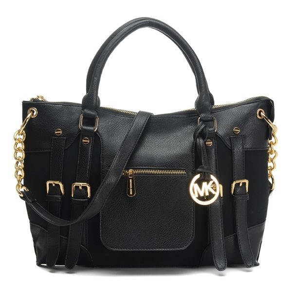 Michael Kors Satchel Mcgraw Leather Large Slim Black Bag. Michael Kors  Handbags DiscountMichael Kors OutletMk ...