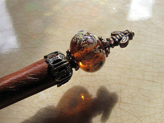 Bees in a Victorian Garden Hair Stick or by GardenOfWeedinGirl, $13.00