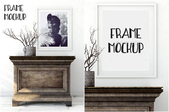 Scandinavian Frame Mockup_06 — Photoshop PSD #profesional #presentation • Available here → https://graphicriver.net/item/scandinavian-frame-mockup_06/17365674?ref=pxcr