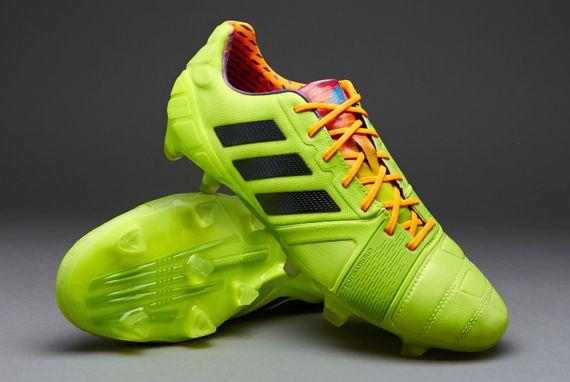 adidas Nitrocharge 1.0 TRX FG - Slime Black Zest  b0aa6d0aa6177