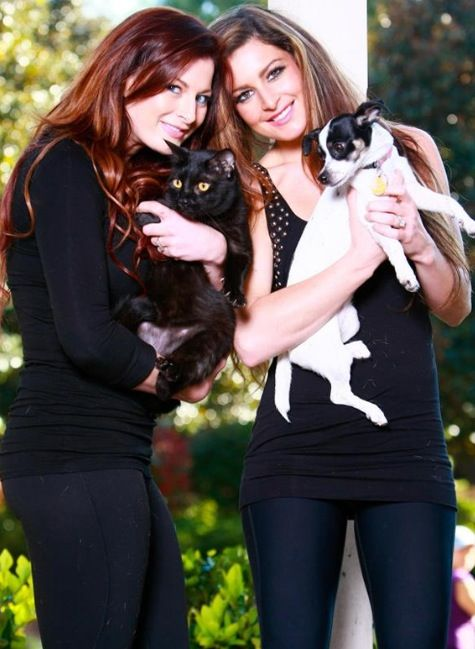 Rachel Reilly and her sister Elissa Slater (big brother)