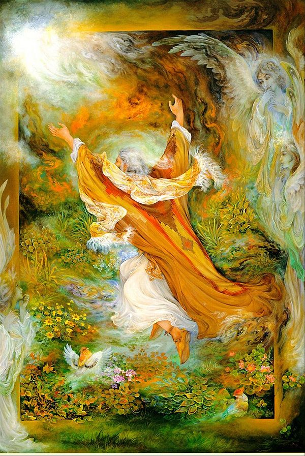 The Prophet Abraham by Farshchian on deviantART