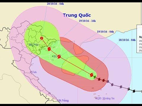 Tin bão số 7 ngày 18/10/2017 - BÃO SỐ 7 ĐI VÀO QUẢNG NINH Trung tâm Dự báo Khí tượng thủy văn Trung ương cho biết lúc 4h ngày 18/10 vị trí tâm bão số 7 (tên quốc tế là Sarika) ở cách quần đảo Hoàng Sa khoảng 190 km về phía bắc tây bắc. Sức gió mạnh nhất ở vùng gần tâm bão mạnh cấp 14 (150-165 km/h) giật cấp 16.  Ngày và đêm 18/10 bão di chuyển theo hướng tây tây bắc mỗi giờ đi được khoảng 15 km.  Đến 4h ngày 19/10 vị trí tâm bão ở vào trên khu vực vịnh Bắc Bộ cách đảo Bạch Long Vĩ 60 km về…