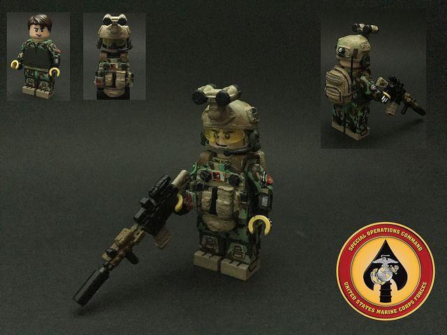 US MARSOC Marine Custom Minifigure | Custom LEGO Minifigures
