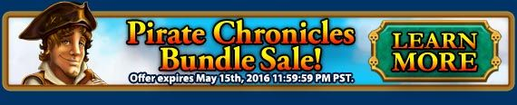 #piratechronicles Bundle #Sale! Buy Pirate Chronicles Collector's Edition and get Happy Chef 2 and Building the Great Wall of China 2 games for $2.99! Use code PIRATE at checkout. Offer valid May 16-17, 2016. http://wholovegames.com/time-management/pirate-chronicles-collectors-edition.html