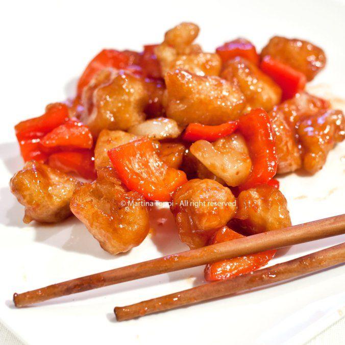 Pollo in salsa agrodolce (cucina cinese)
