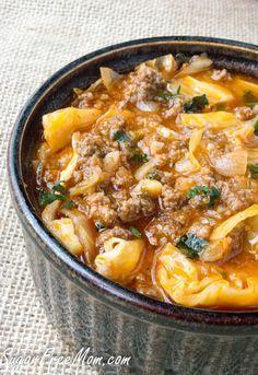 Paleo+Crock+Pot+Low+Carb+Un-Stuffed+Cabbage+Roll+Soup