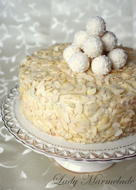 Raffaello torta z neba