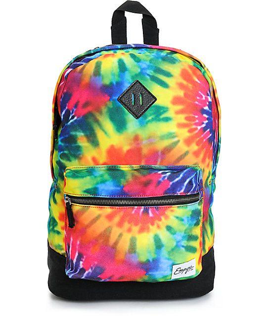 Empyre Harvest Tie Dye Backpack