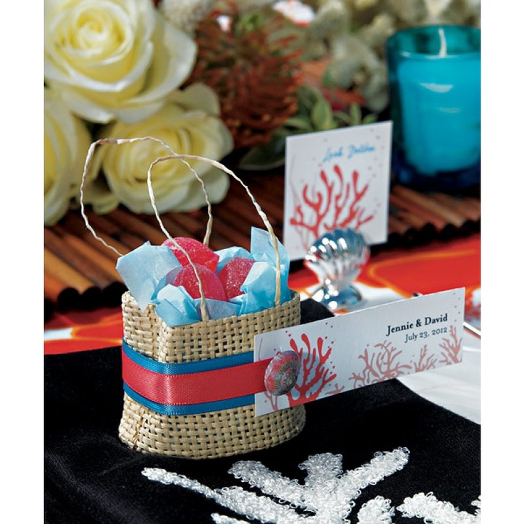Natural Miniature Woven Beach Bags Bulk 6 MINI Wholesale Wedding Supplies Discount Favors Party And Event
