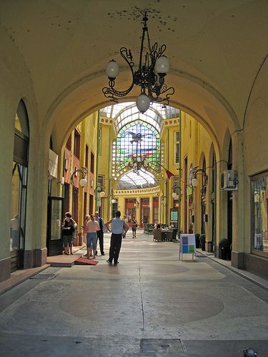 Pasajul Vulturul Negru (1907) - Oradea city.