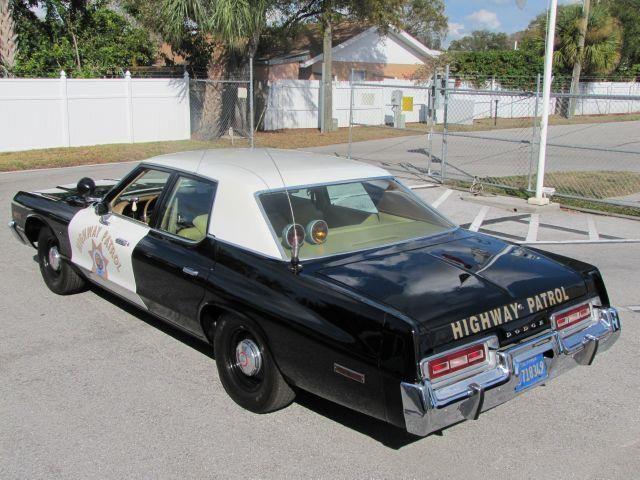 1974 Dodge Monaco California Highway Patrol.