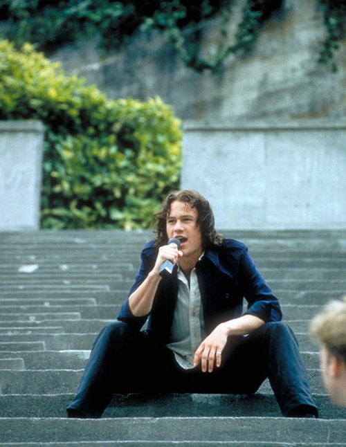 10 Things I Hate About You - Heath Ledger.