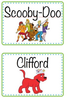 class library labels. this will come in handy next year.