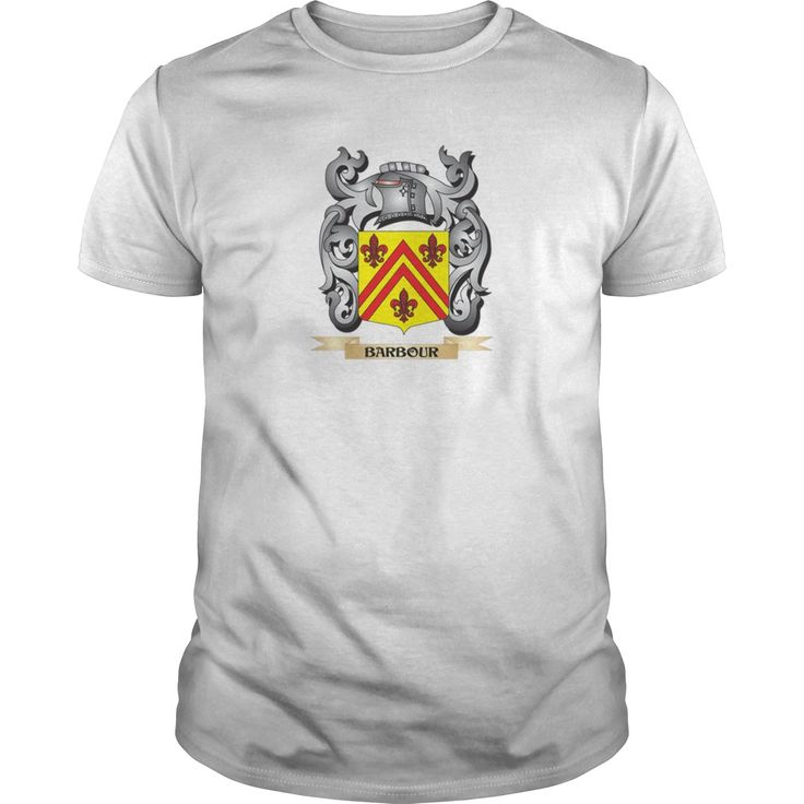 Barbour family crest - barbour coat of arms light - tshirt - Tshirt