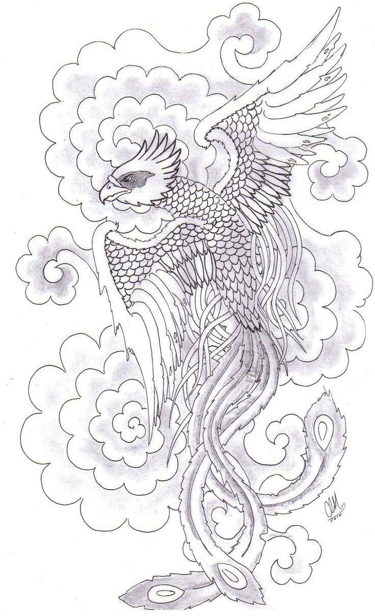 Rising phoenix tattoo | Like Tattoo