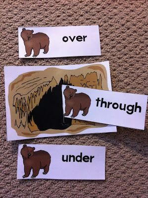 We had a bear day! We're Going on a Bear Hunt story board and book. This story is great for description words and repetitive patterns. ...