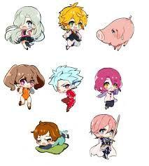 Resultado de imagen para los 7 pecados capitales anime fanart
