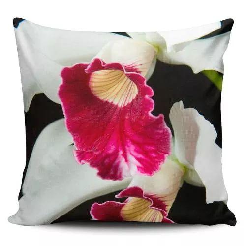 Cojin Decorativo Tayrona Store Flor Orquidea 01 - $ 43.200
