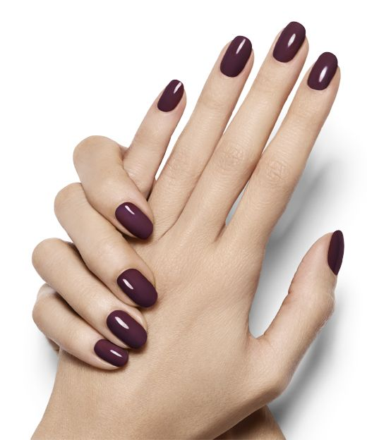 Essie Nail Polish: Solemate. My favorite winter hue is versatile (purple, red, brown, black) and festive without the kitsch.