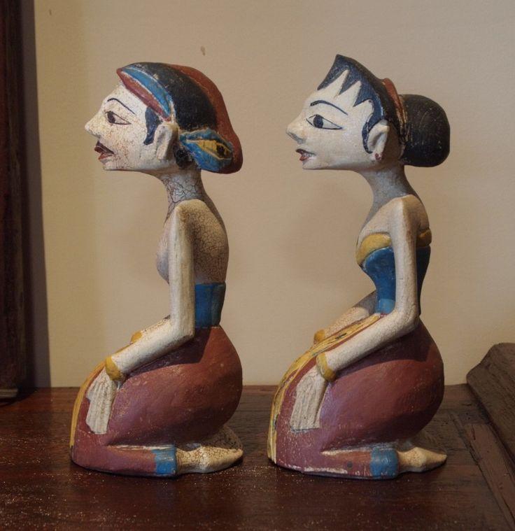 Loro Blonyo Indonesian Wedding Statues | Gado Gado