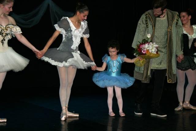 Βασιλική, 5… Θέλω να γίνω μπαλαρίνα!